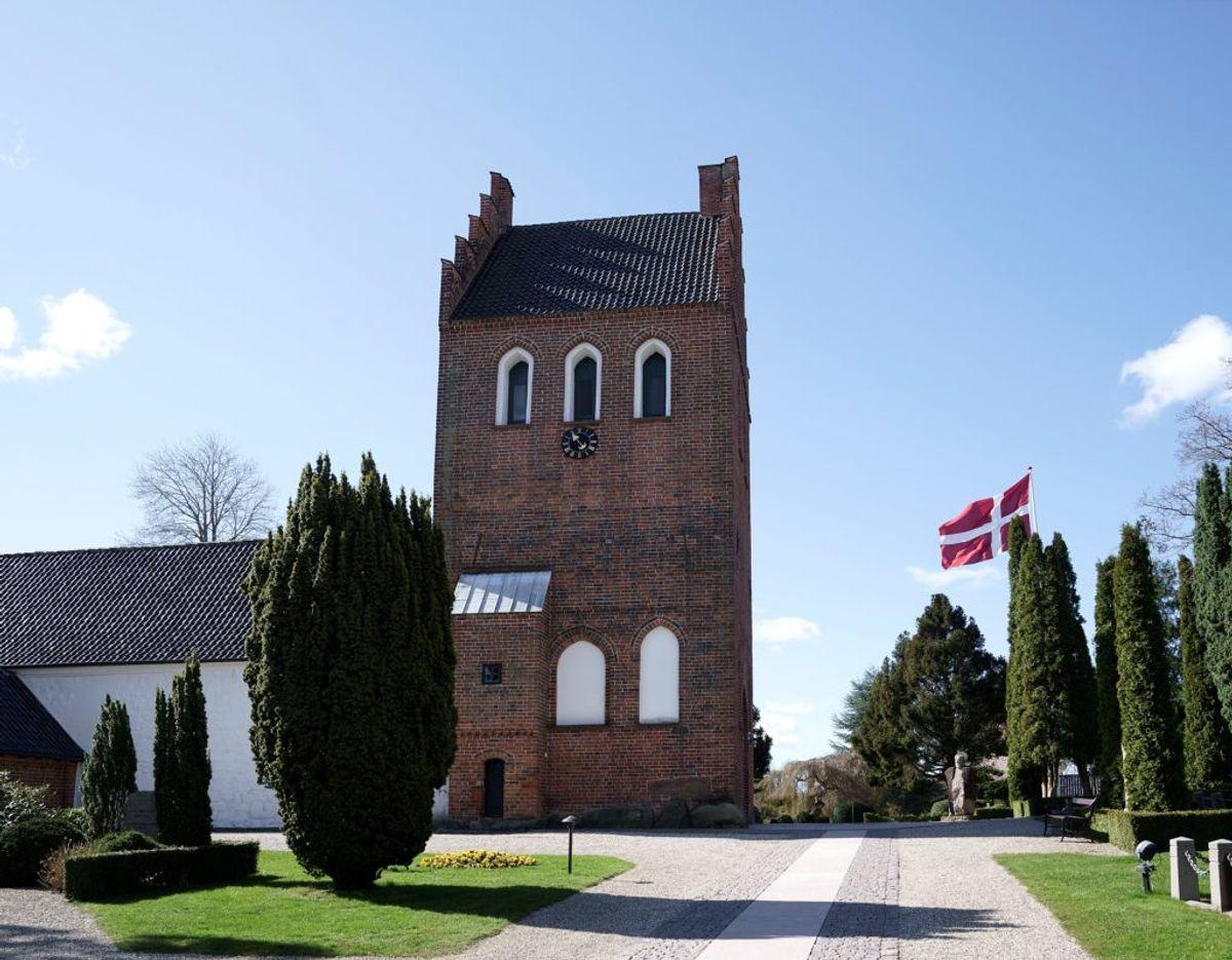 Asminderød Kirke ved Fredensborg. Foto: Keld Navntoft/Kongehuset.