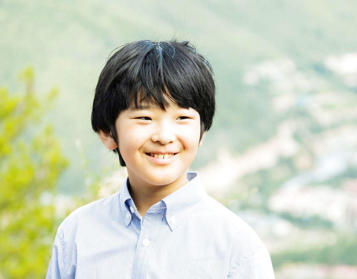 Japans 14-årige Hisahito af Akishino. Klik videre for flere billeder. Foto: Scanpix/Agency of Japan/Handout via REUTERS