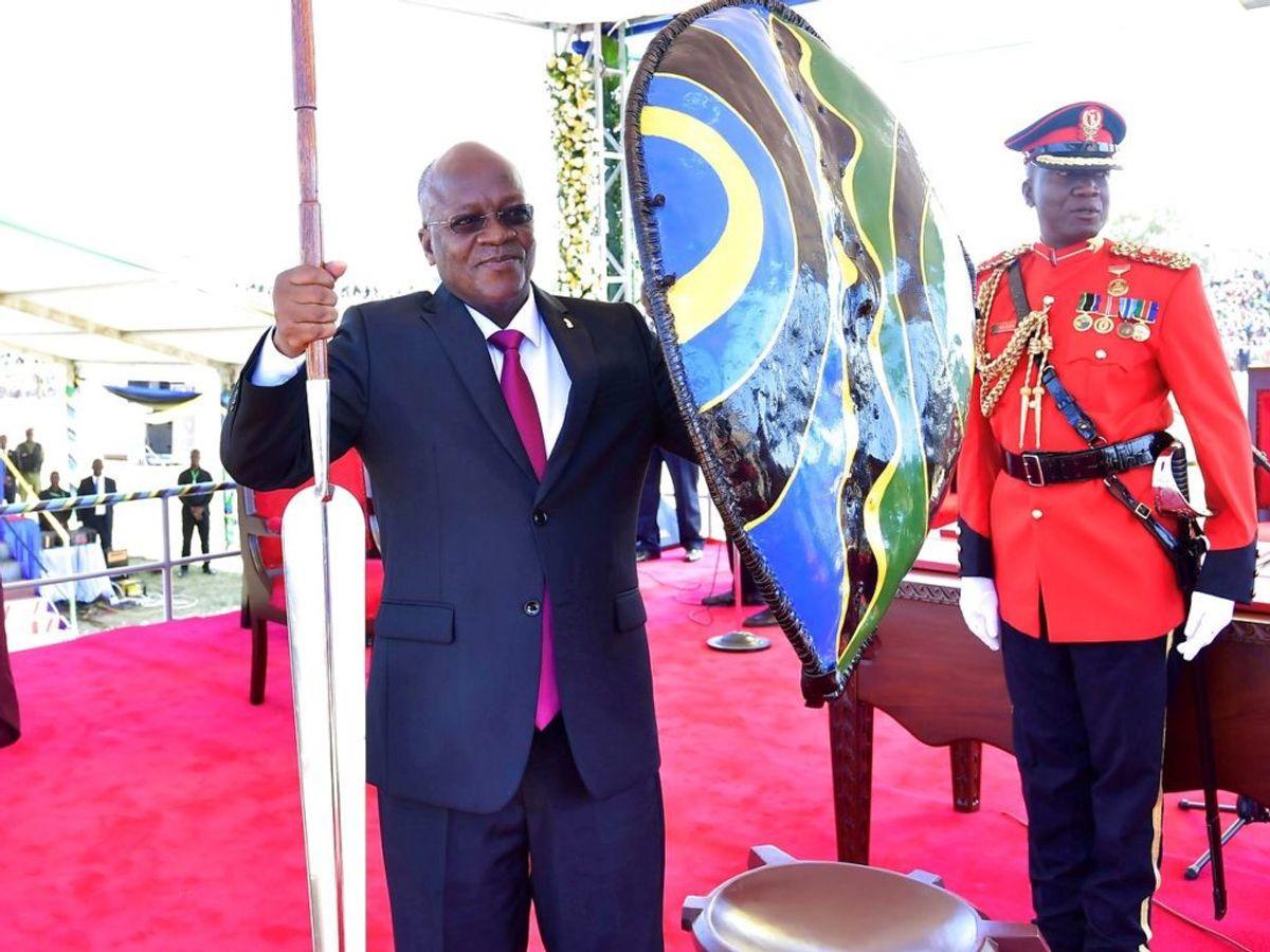 Tanzanias præsident, John Magufuli , er død. Foto: Tanzania State House Press/Handout/Scanpix