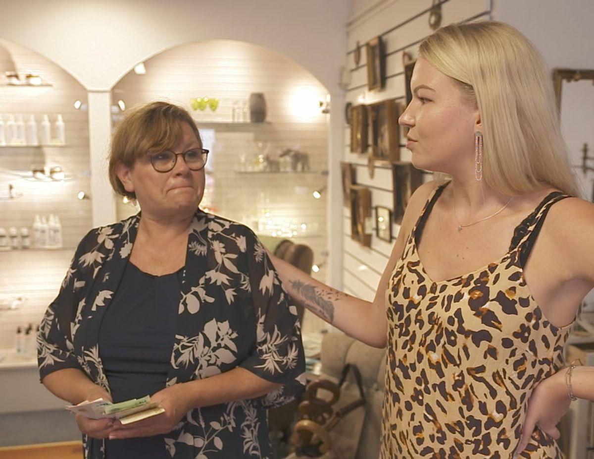 Henriette har det meget bedre efter deltagelsen i Luksusfælden. Foto: TV3