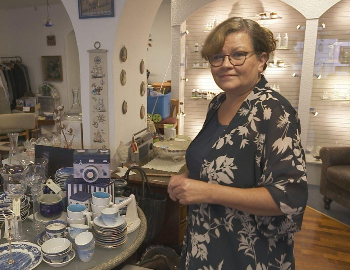 Antikbutikken giver intet overskud. Foto: TV3