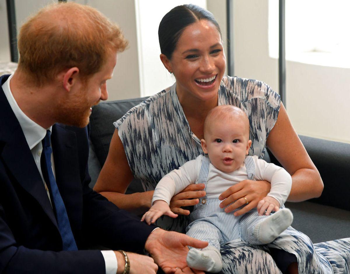 Archie kom til verden den 6. maj 2019 og kan således om fire måneder fejre to års fødselsdag. Klik videre for flere billeder. Foto: Scanpix/REUTERS/Toby Melville/Pool