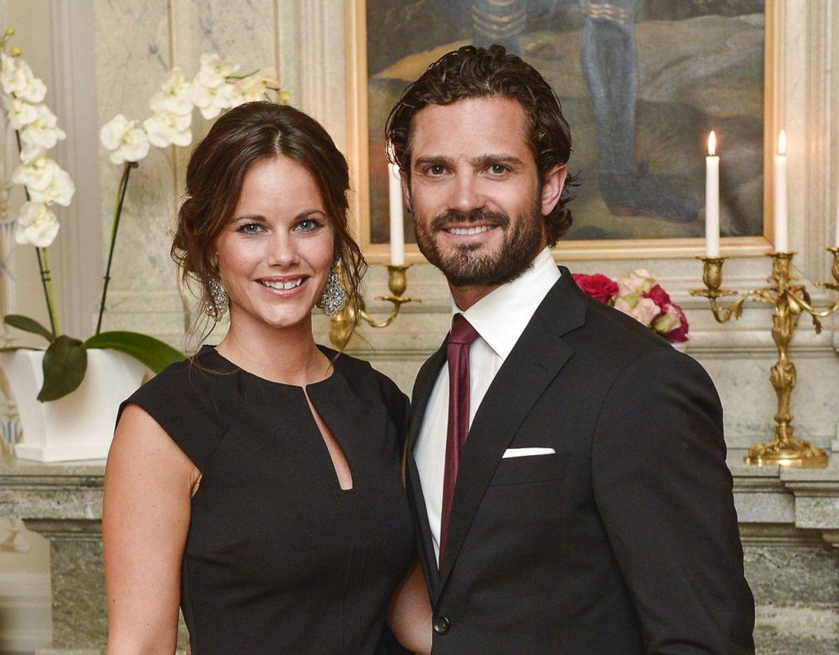 Prinsesse Sofia og prins Carl Philip. Klik videre for flere billeder. Foto: Scanpix/REUTERS/Jonas Ekstromer/TT News Agency