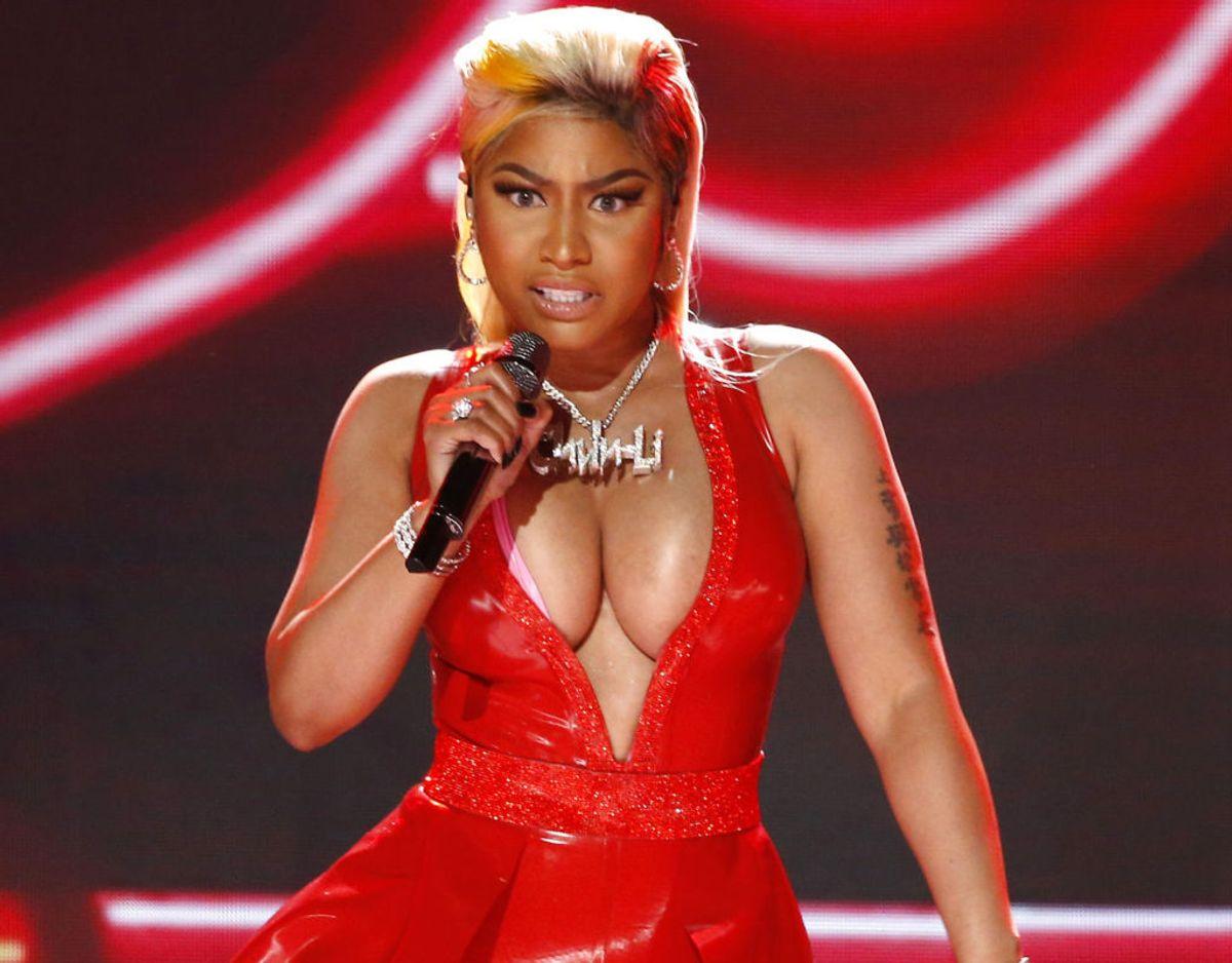 Nicki Minaj har endnu ikke udtalt sig offentligt om faderens død. Foto: REUTERS/Mario Anzuoni/Scanpix