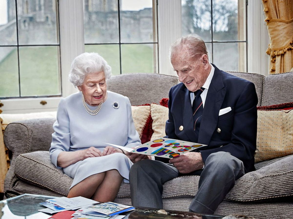 99-årige Prins Philip er blevet indlagt. Foto: Scanpix.