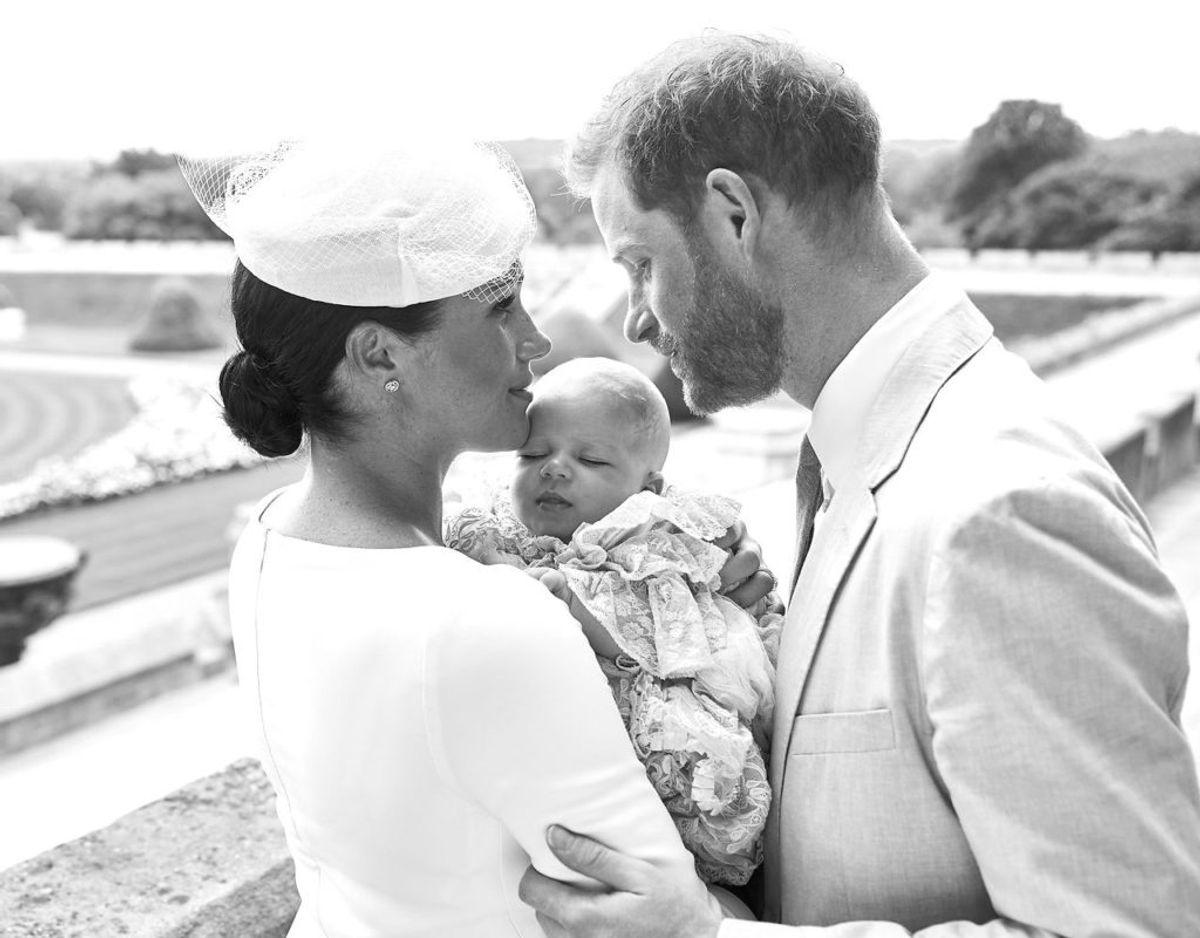 Det officielle foto fra lille Archies dåb den 6. juli 2019. Foto: Scanpix/Chris Allerton/Pool via REUTERS