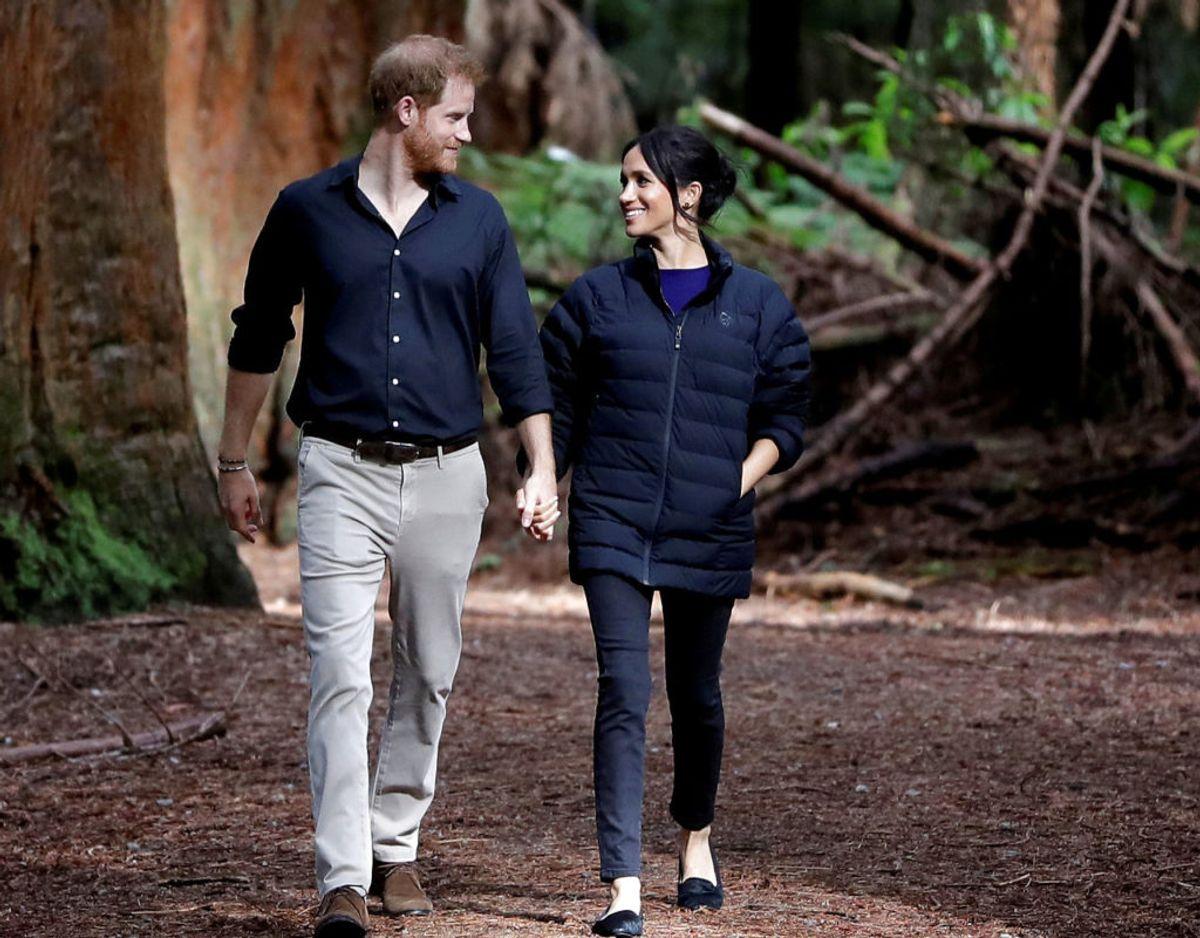 Den 31. marts er det præcis et år siden, Harry og Meghan sagde farvel til tilværelsen som fremtrædende medlemmer af den britiske kongefamilie. Nu er tiden kommet til, at aftalen skal evalueres. Klik videre for flere billeder. Foto: Scanpix/Kirsty Wigglesworth/Pool via REUTERS
