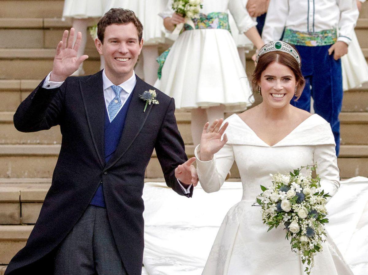 Hun blev i 2018 gift med Jack Brooksbank. Foto: Steve Parsons/Scanpix.
