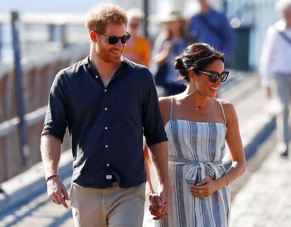 Den 31. marts er det præcis ét år siden, Harry og Meghan officielt trak sig som fremtrædende medlemmer af den britiske kongefamilie. Foto: Scanpix/REUTERS/Phil Noble/File Photo