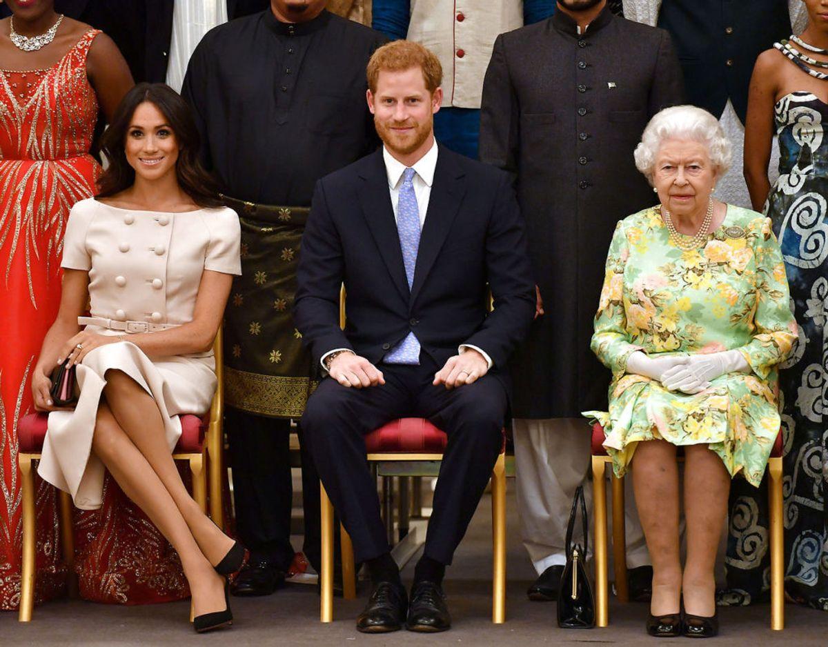 Ifølge den monarki-fjendtlige organisation kommer besparelserne i forbindelse med Harry og Meghans farvel til kongehuset på ingen måde skatteyderne til gode. Klik videre for flere billeder. Foto: Scanpix/John Stillwell/Pool via Reuters/File Photo