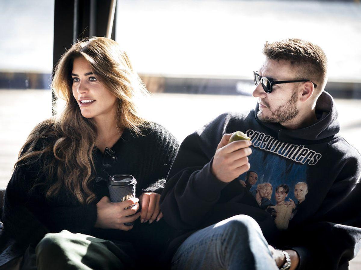 Nicklas Bendtner og Philine Roepstorff har haft indbrud i deres hjem, mens de er i Dubai. Her er også andre danskere – KLIK og se. (Foto: Liselotte Sabroe/Ritzau Scanpix)