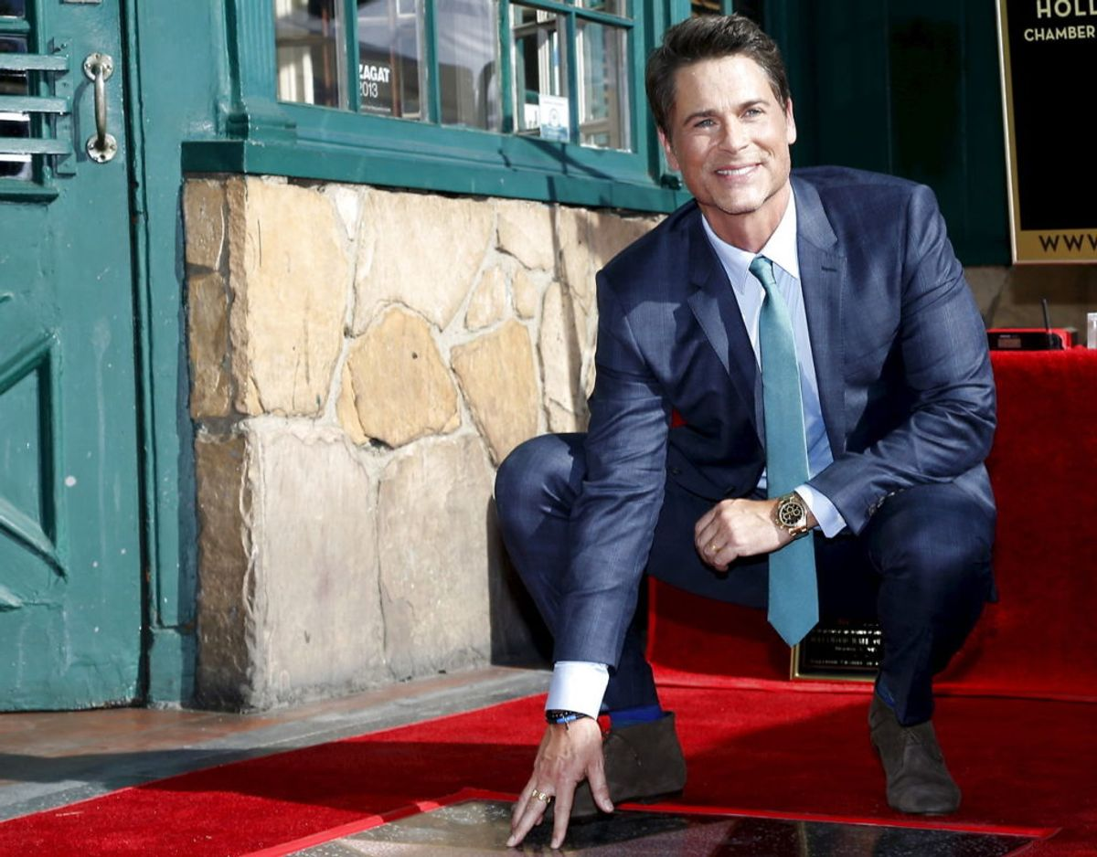 Rob Lowe har blandt andet haft roller i West Wing og Parks and Recreation. Han har også en stjerne på Hollywood Walk of Fame i Los Angeles. Foto: Scanpix/Mario Anzuoni