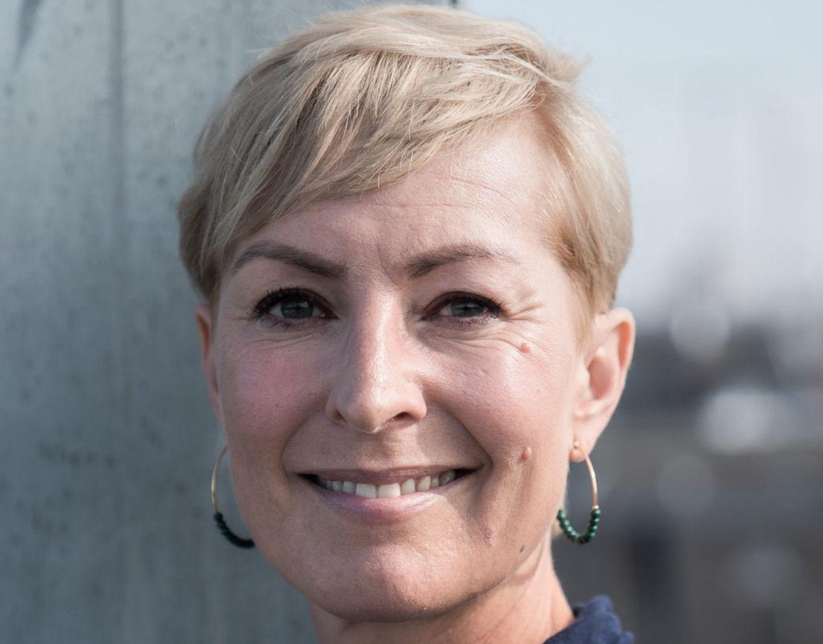 Nyhedsvært Cecilie Beck skal være vært på uddelingen af Tvprisen 2021 sammen med Jakob Riising. (Arkivfoto) – Foto: Emil Helms/Ritzau Scanpix.