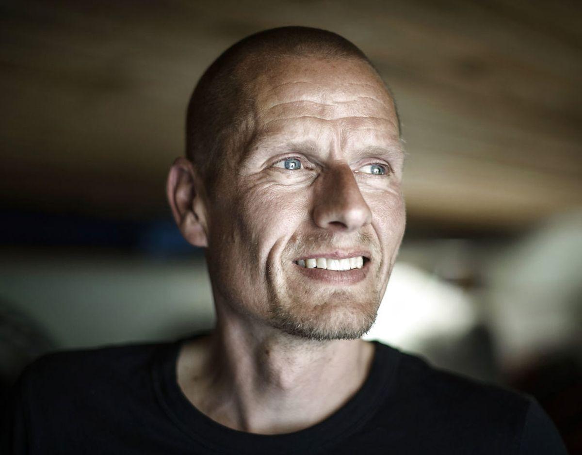 Den tidligere cykelrytter Michael Rasmussen er blevet østjyde. Sammen med sin kæreste Lone Sisseck har han købt hus på Strandvejen i Kolding. Foto: Niels Ahlmann Olesen/Ritzau Scanpix