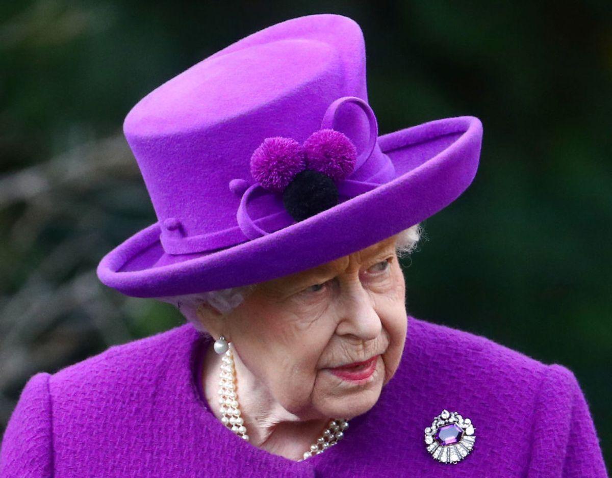 Det var med stor sorg, at dronning Elizabeth lørdag modtog den sørgelige besked, at et kært familiemedlem, Lady Mary Colman, er gået bort. Klik videre for flere billeder. Foto: Scanpix/REUTERS/Hannah McKay
