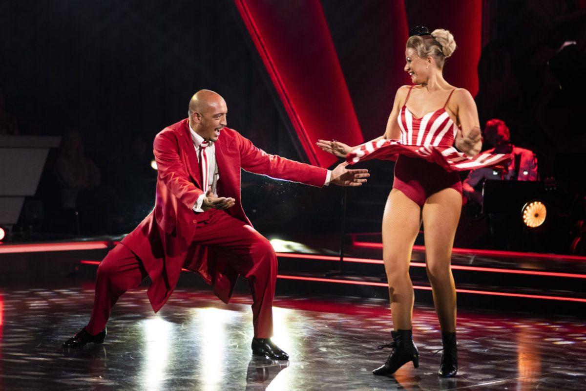 Wafande og Mie Moltke er ude af Vild med dans. Foto: Scanpix