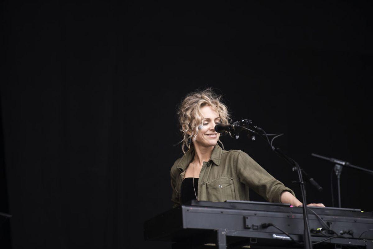 Agnes Obel har udgivet fire albummer og turneret i det meste af verden. Den 28. oktober fylder den danske sanger og sangskriver 40 år.  Foto: Sarah Christine Nørgaard/Ritzau Scanpix