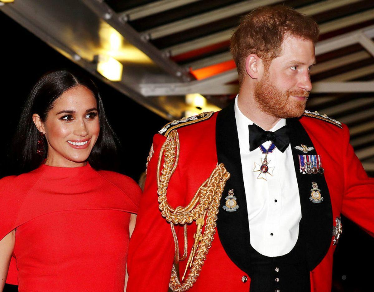 Prins Harry ses her i fuld galla sammen med Meghan, inden parret trådte tilbage som fremtrædende medlemmer af den britiske kongefamilie. Klik videre i galleriet for flere billeder. Foto: Scanpix/REUTERS/Simon Dawson/Pool