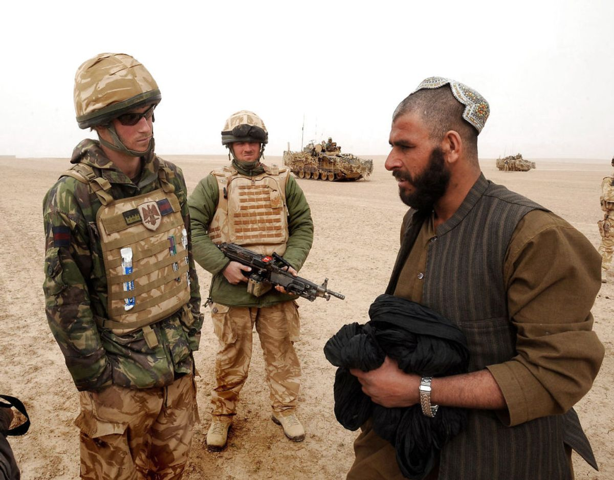 Prinsen har af to omgange været udsendt i aktiv militærtjeneste i Afghanistan. Foto: Scanpix/REUTERS/John Stillwell/Pool/Files
