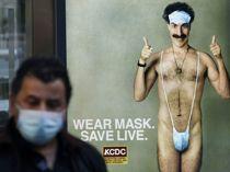 Trump kalder Borat-skuespiller for et kryb