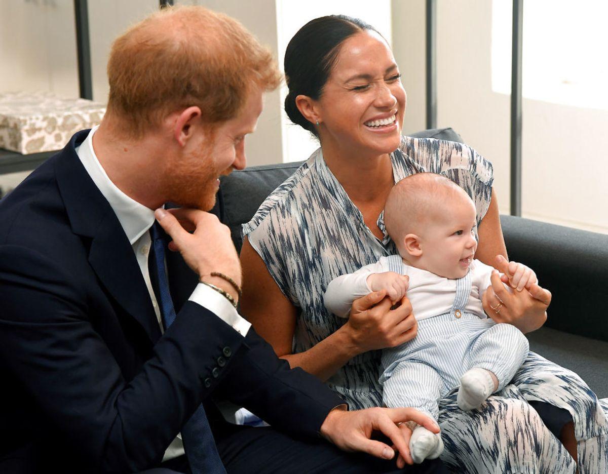 Corona-pandemien har betydet masser af tid sammen for Harry, Meghan og lille Archie. Klik videre i galleriet for flere billeder. Foto: Scanpix/REUTERS/Toby Melville/Pool