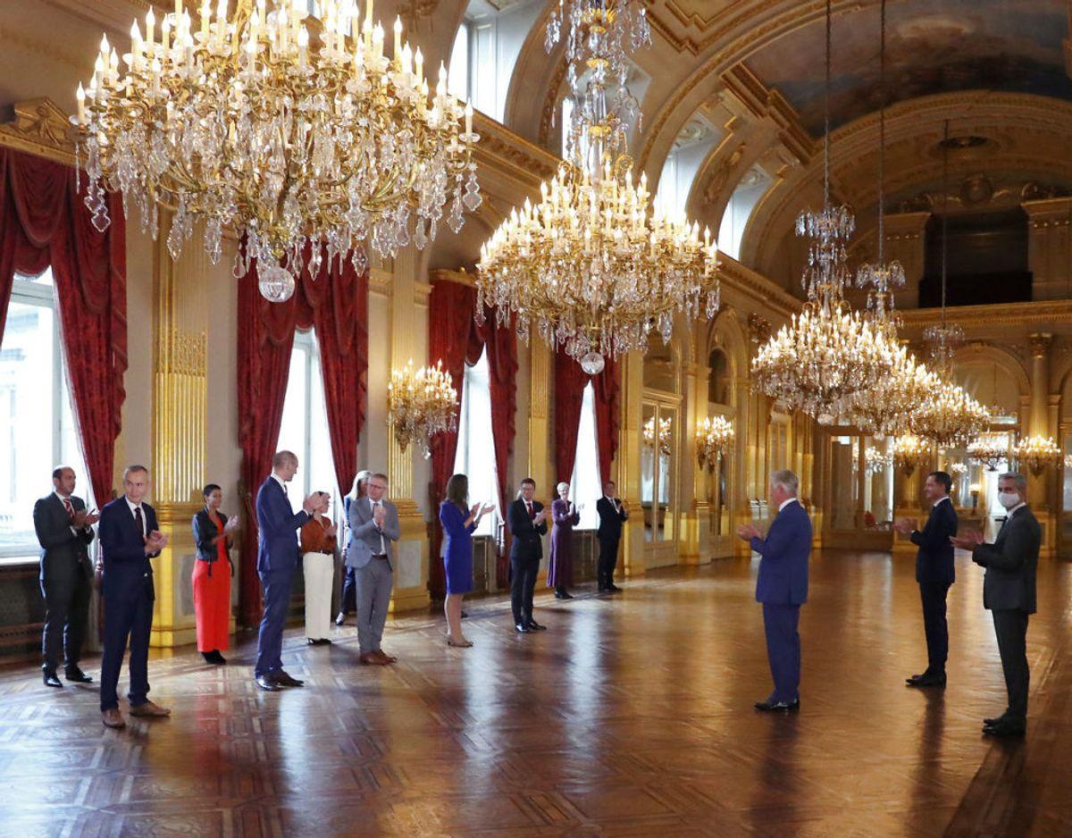 Den guidede tur bringer blandt andet publikum igennem de 10 centrale rum på paladset. Klik videre i galleriet for flere billeder. Foto: Scanpix/REUTERS/Yves Herman/Pool