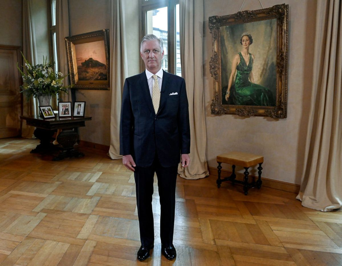 Kong Philippe af Belgien inviterer nu offentligheden indenfor til en virtuel rundtur på de kongelige palads i Bruxelles. Klik videre i galleriet for flere billeder. Foto: Scanpix/Didier Lebrun/Pool via Reuters
