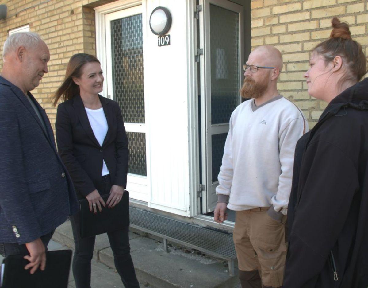 Eksperterne rager uklar med Anders, da han virker som om, han ikke ønsker at ændre sit forbrug. Foto: Nent Group