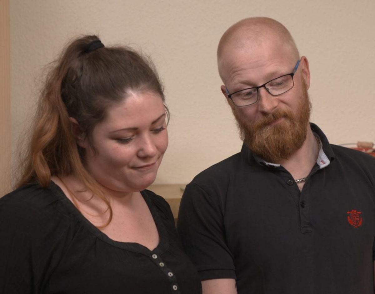 Maria og Anders drømmer om at købe hus og stifte familie. Men de har en enorm gæld. KLIK VIDERE OG SE FLERE BILLEDER. Foto: Nent Group