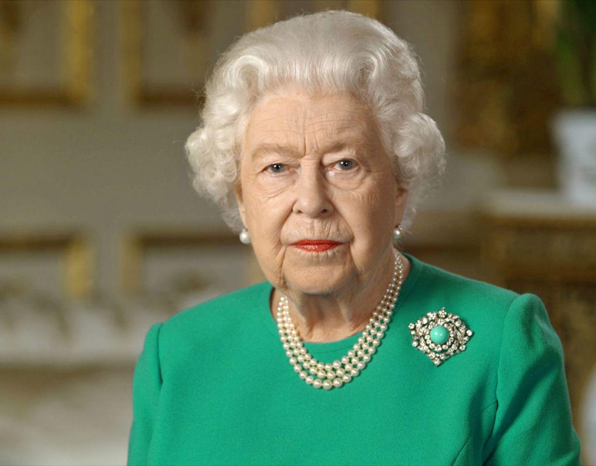 Dronningen er rykket ind på Windsor Castle og vil kun vise sig på Buckingham Palace i forbindelse med særlige audienser og mindre arrangementer. Klik videre i galleriet for flere billeder. Foto: Scanpix/POOL/Ritzau