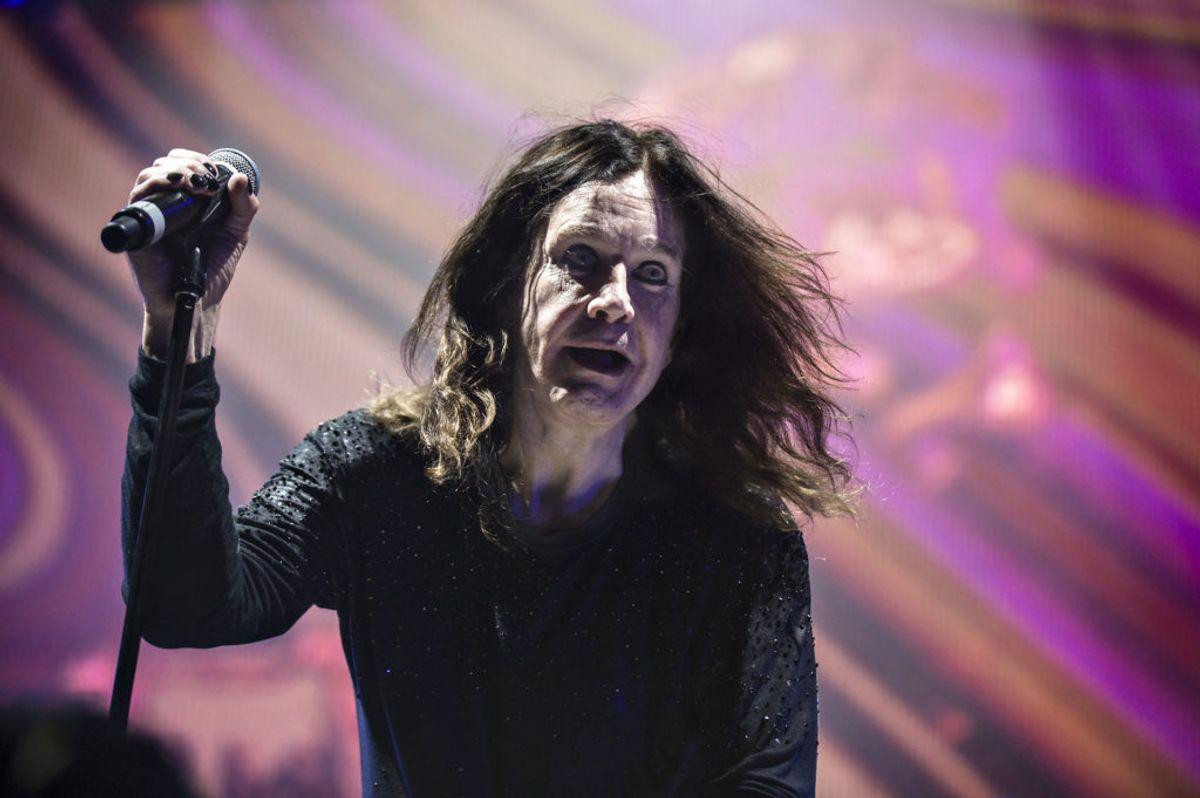 Heavy-rockeren Ozzy Osbourne. Foto: Ida Guldbæk Arentsen/Scanpix.
