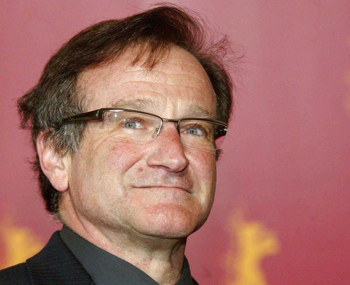 Kort tid efter stjernens død kom det frem at Robin Williams led af Parkinsons.. Foto: Arnd Wiegmann/Scanpix.