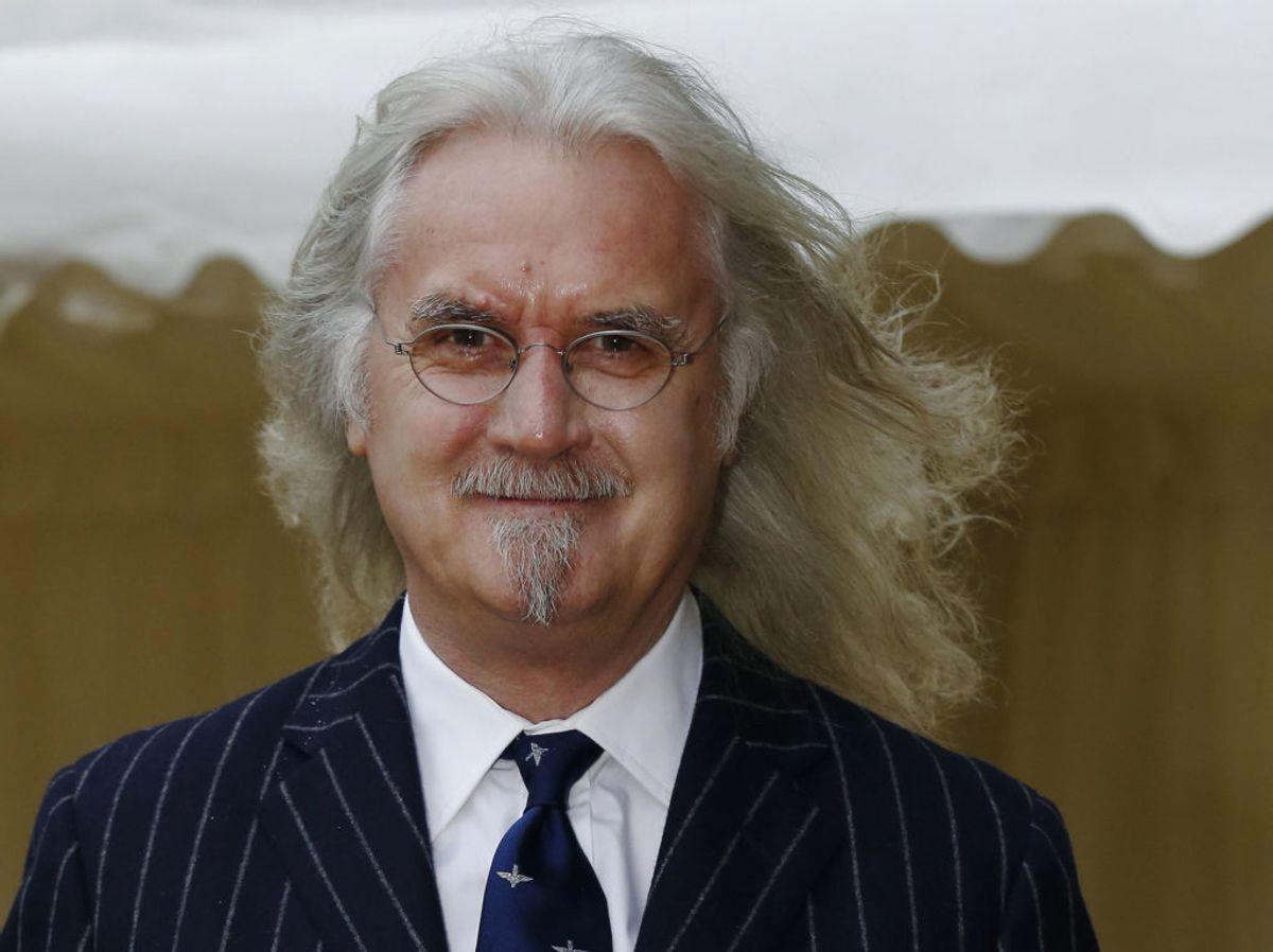 Skuespilleren og komikeren Billy Connolly har i flere år balanceret humor og Parkinsons. Foto: Luke MacGregor/Scanpix.