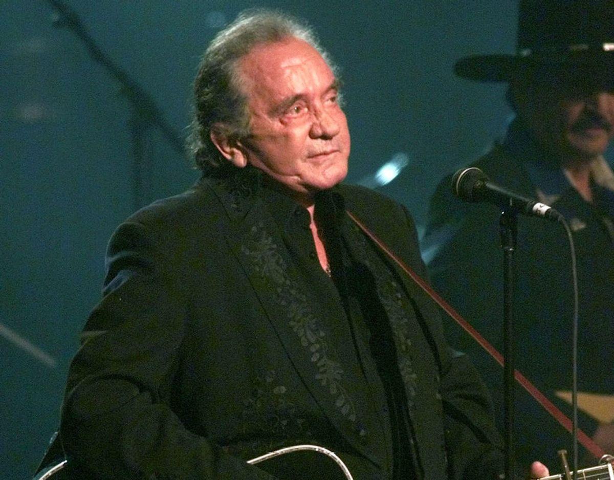 Johnny Cash led i de sidste år af sit liv af Parkinsons. Foto: Reuters/Scanpix.