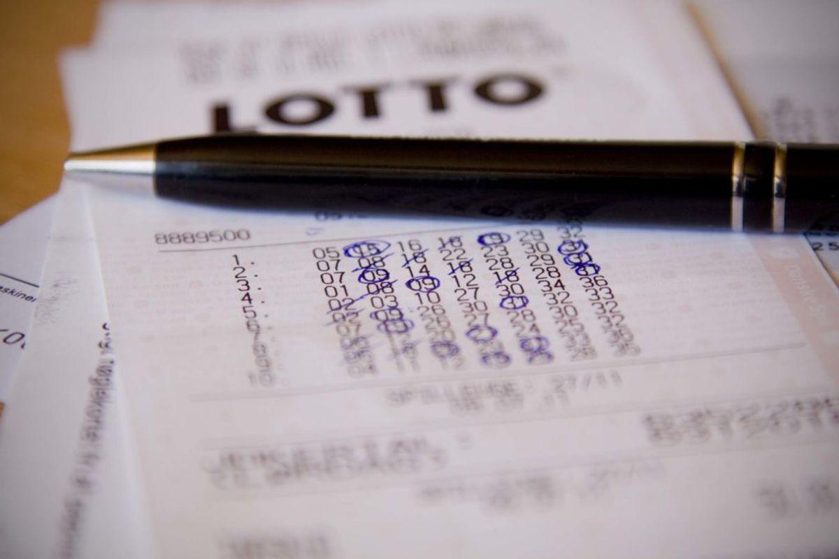 Har du spillet Lotto for nylig? Så kan du være millionær uden at vide det. KLIK og se, hvor de mange, rare millioner er vundet. Foto: Colourbox.