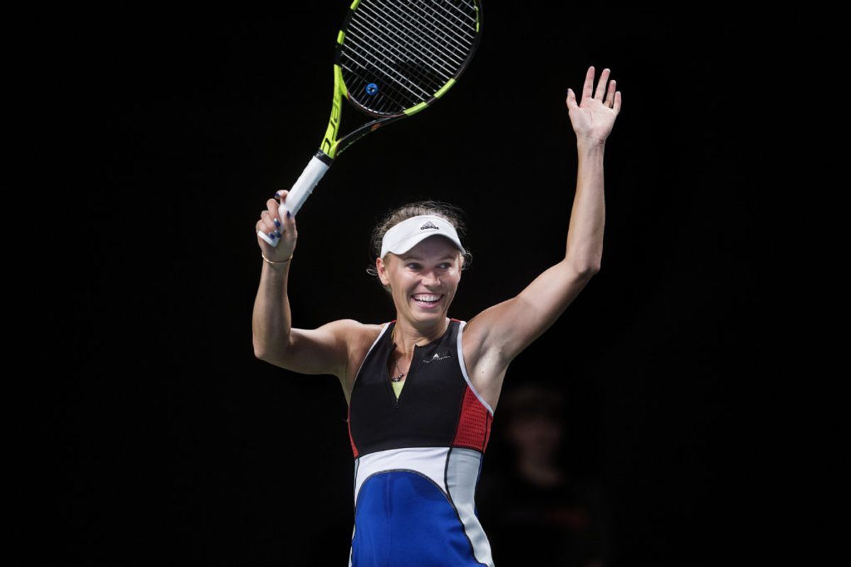 Danske Caroline Wozniacki stoppede i år sin karriere efter Australian Open i januar i Melbourne, hvor hun i 2018 nåede at fejre sin eneste grand slam-triuf. – Foto: Liselotte Sabroe/Ritzau Scanpix