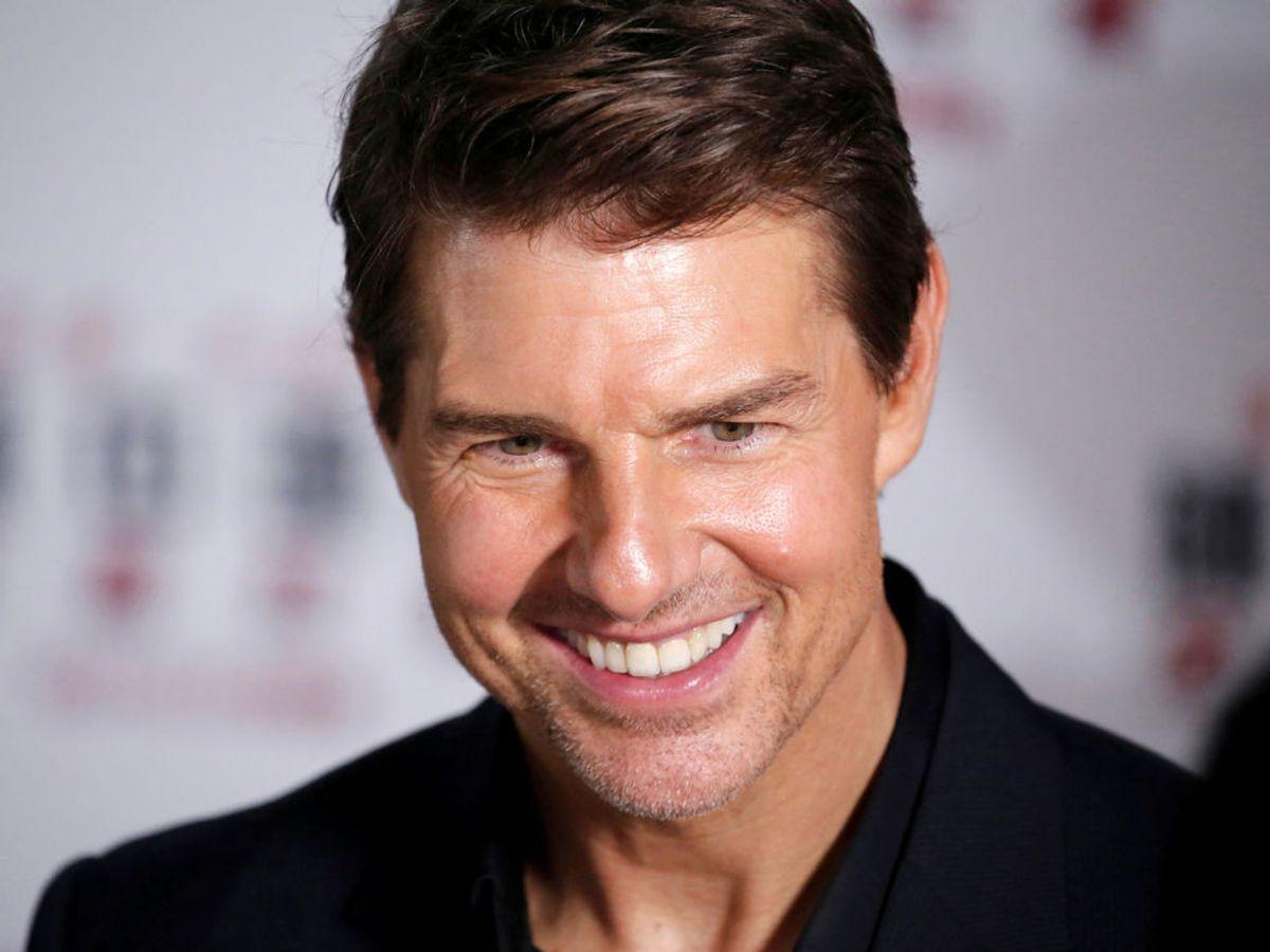 Tom Cruises glæde for at komme tilbage til Norge er stor. Foto: Jason Lee / SCANPIX