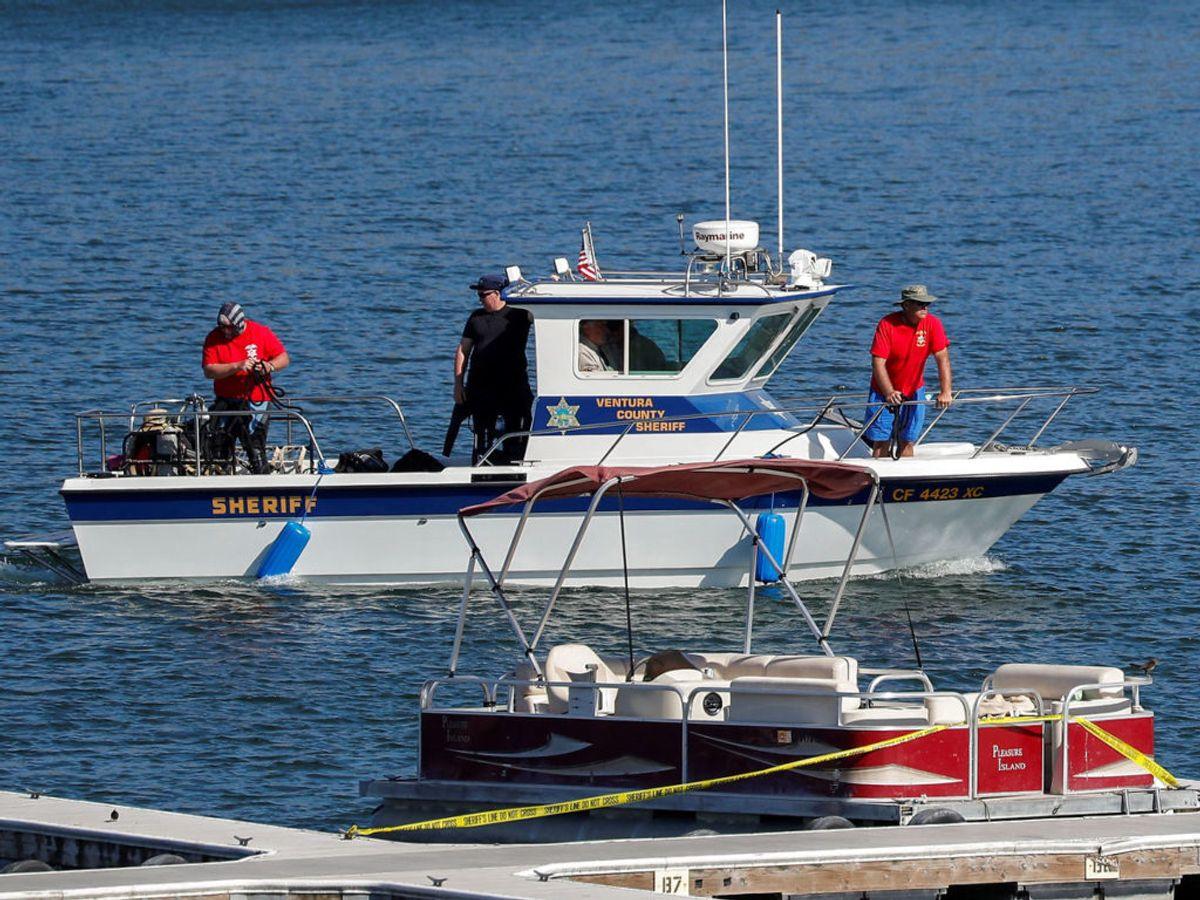 Efter en stor eftersøgning blev liget af skuespilleren fundet på Lake Piru. Obduktionen viste, hun var druknet. Foto: REUTERS/Mario Anzuoni/File Photo