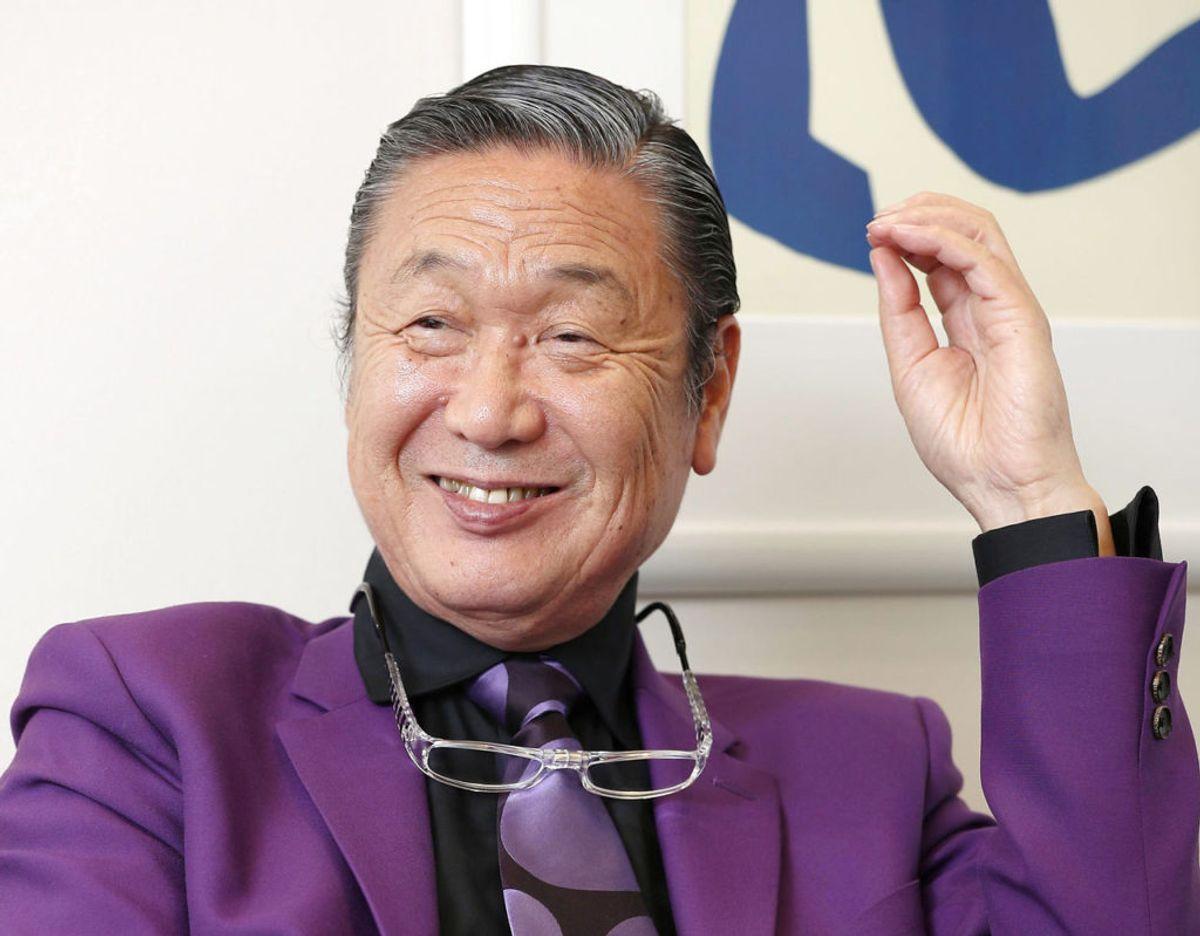 Kansai Yamamoto døde tirsdag. Foto: Scanpix