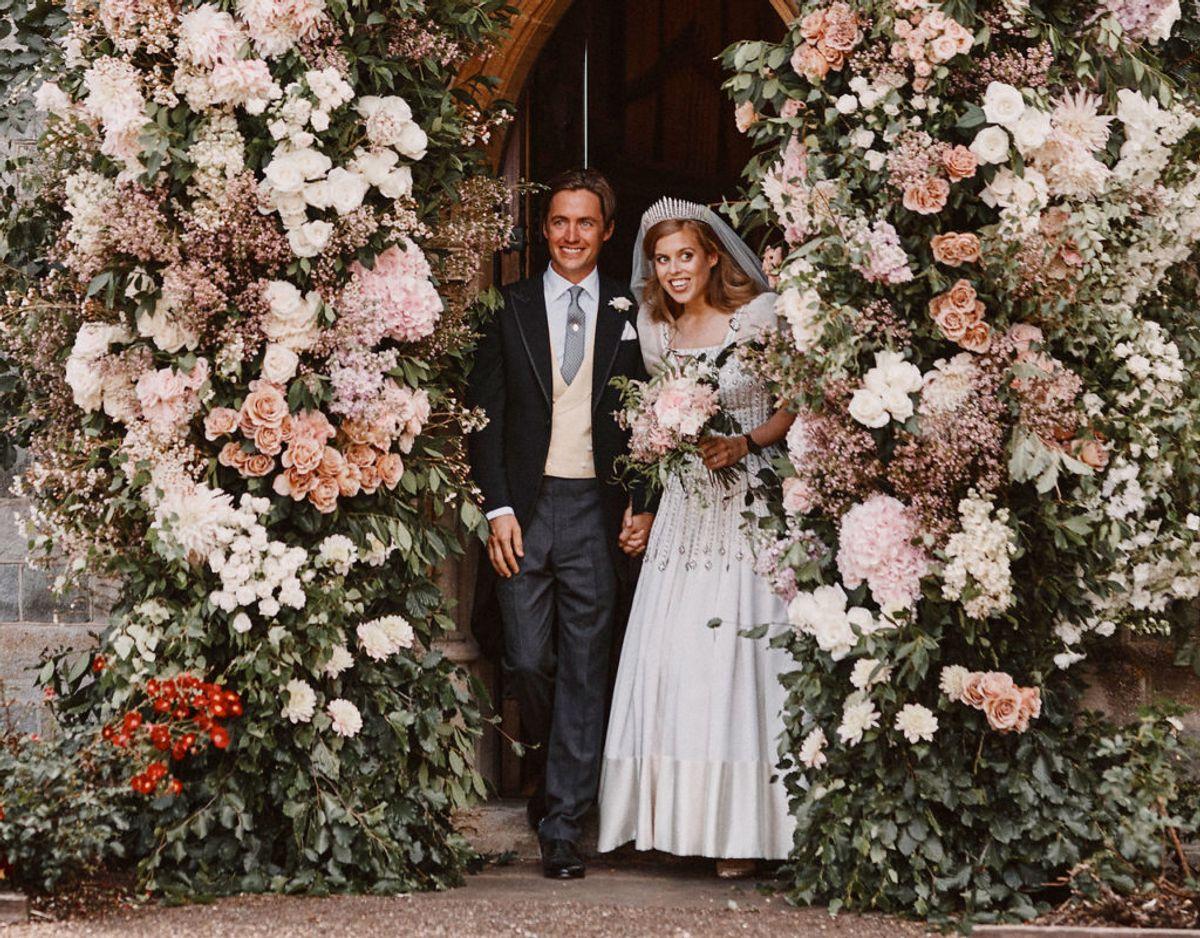 Endnu et foto af det smukke brudepar. Klik videre i galleriet for flere billeder. Foto: Scanpix/Benjamin Wheeler/Pool via REUTERS