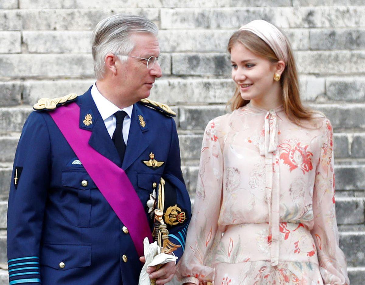 Kong Philippe og kronprinsesse Elisabeth. Klik videre i galleriet for flere billeder. Foto: Scanpix/REUTERS/Francois Lenoir