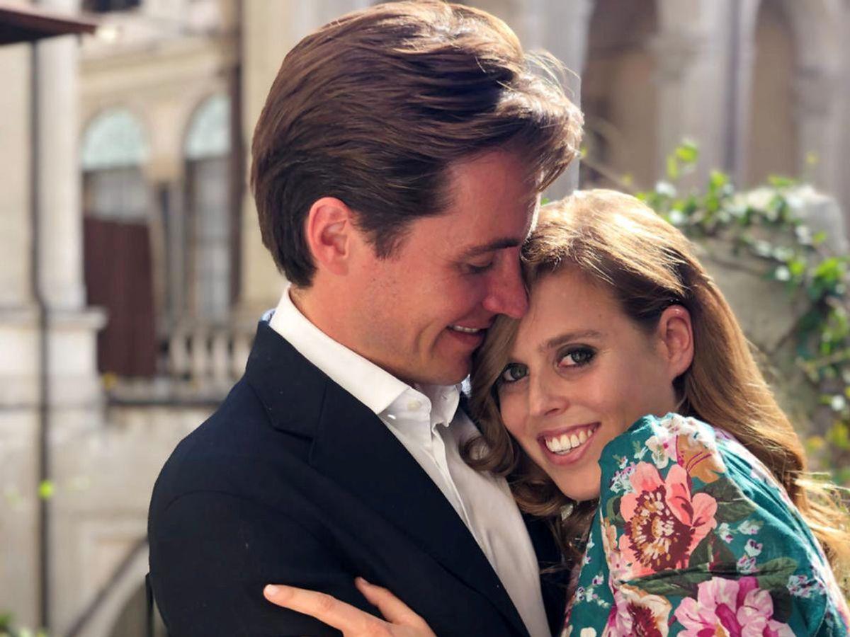 Prinsesse Beatrice er blevet gift med Edoardo Mapelli Mozzi ved et hemmeligt bryllup. KLIK VIDERE OG SE FLERE BILLEDER. Foto: Princess Eugenie/Handout via REUTERS