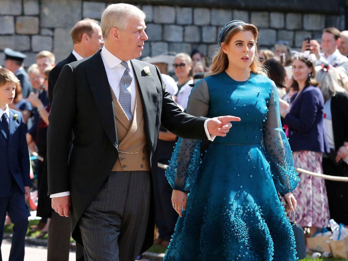 Flere gange er prinsesse Beatrices bryllup blevet udsat på grund af hendes far. Men senest var det på grund af coronavirus. Foto: Gareth Fuller/Pool via REUTERS