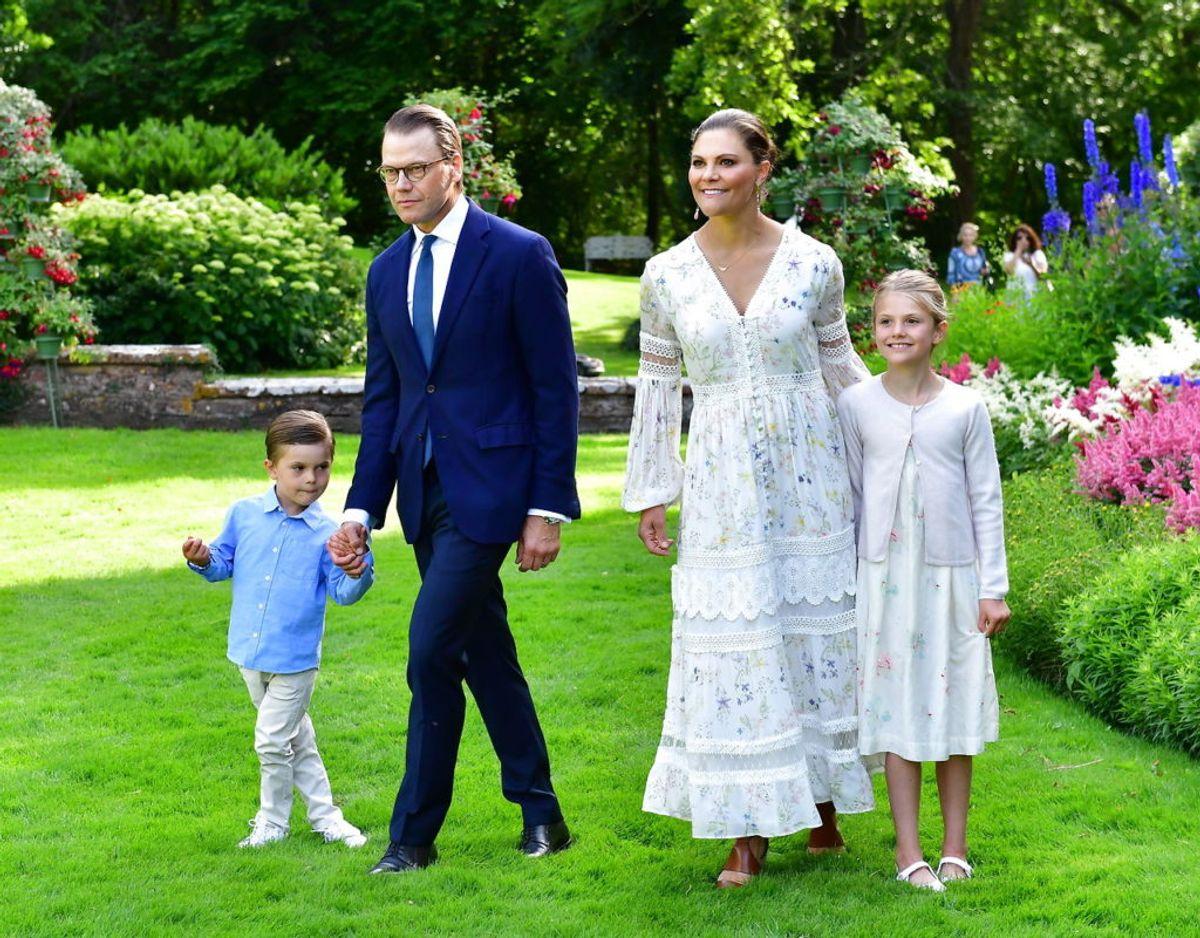 Endnu et foto af familien mens de alle fire stadig var samlet. Klik videre for flere billeder. Foto: Scanpix/Jonas Ekströmer / TT