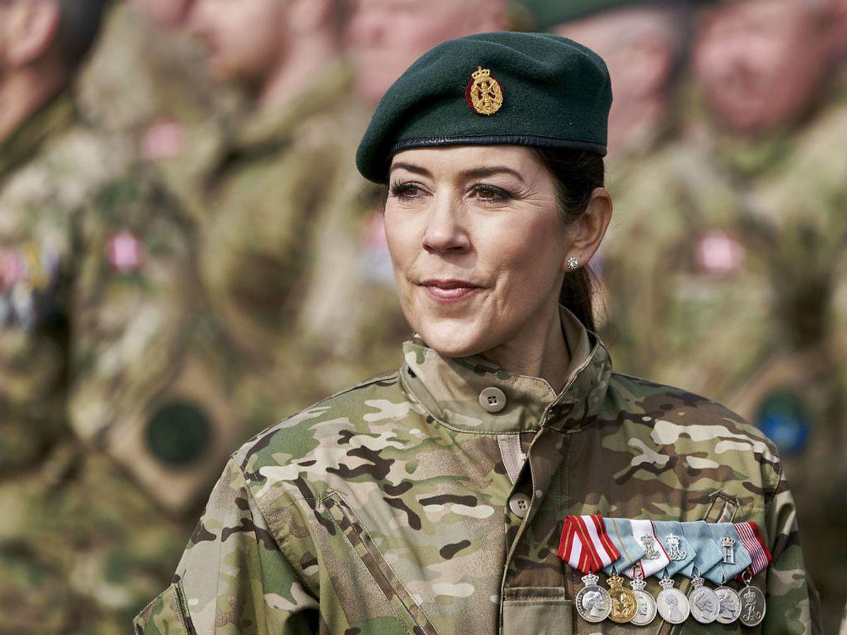Kronprinsesse Mary udnævnes til kaptajn i Hjemmeværnet. Foto: Claus Bonnerup / SCANPIX