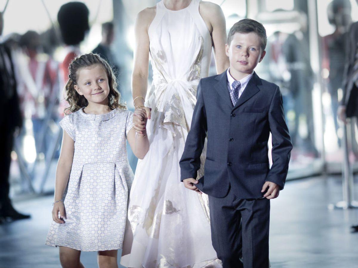 2014: Prins Christian og prinsesse Isabella til Prinsgemalens 80-års fødselsdag. Foto: Mads Nissen / SCANPIX