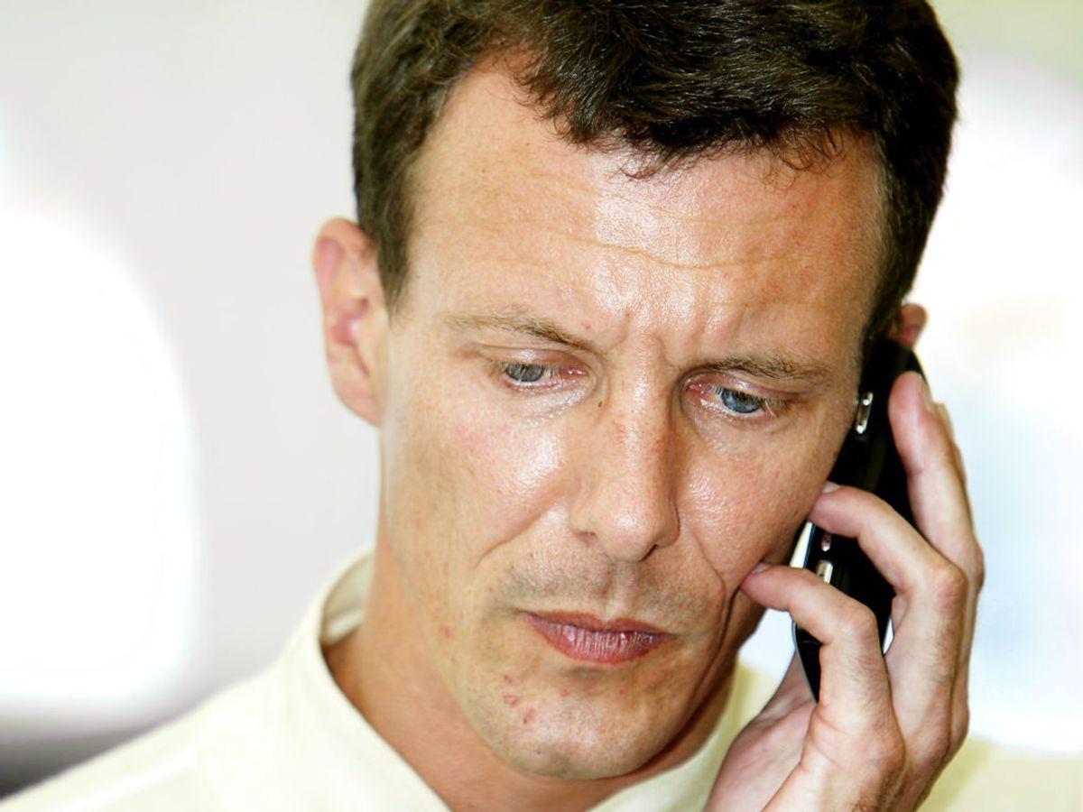 Fra Copenhagen Historic Grand Prix 2007. Prins Joachim deltog i løbet. Arkivfoto: Scanpix.