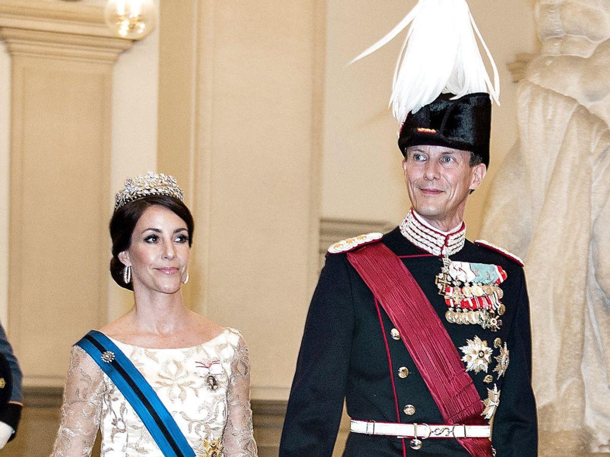 2017: Prins Joachim og prinsesse Marie deltager i statsbesøg af Belgiens Kong Philippe og Dronning Mathilde. Foto: Scanpix