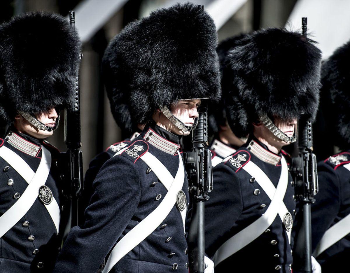Soldaterne vil være synlige flere steder i Danmark. Foto: Scanpix