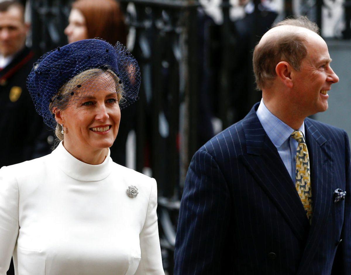 Grevinden er gift med prins Edward og dermed også dronningens svigerdatter. Klik videre for flere billeder. Foto: Scanpix/REUTERS/Henry Nicholls